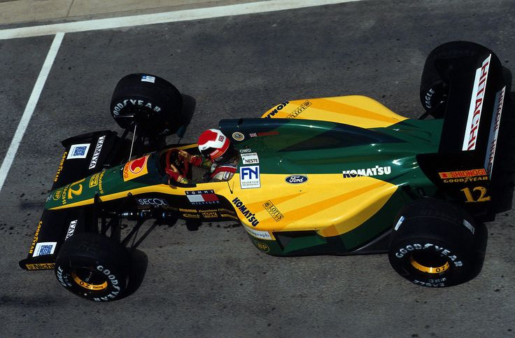 1992 South African GP - Johnny Herbert (Lotus-Ford)