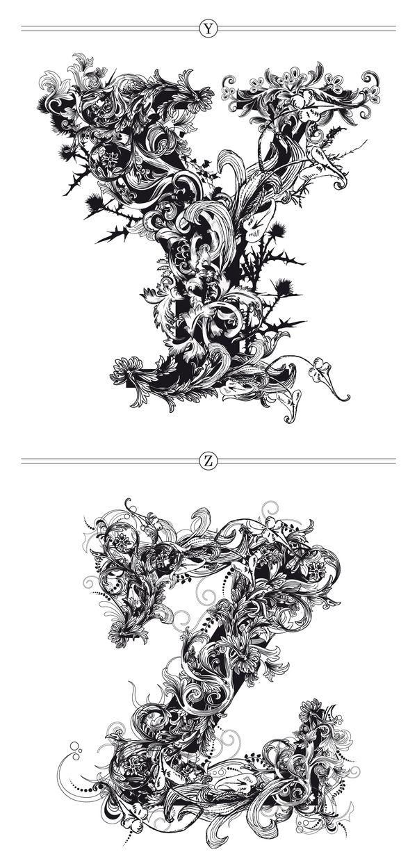 BRUSHWOOD by Riccardo Sabatini, via Behance