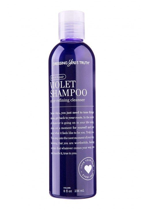 Violet Shampoo also conditioner