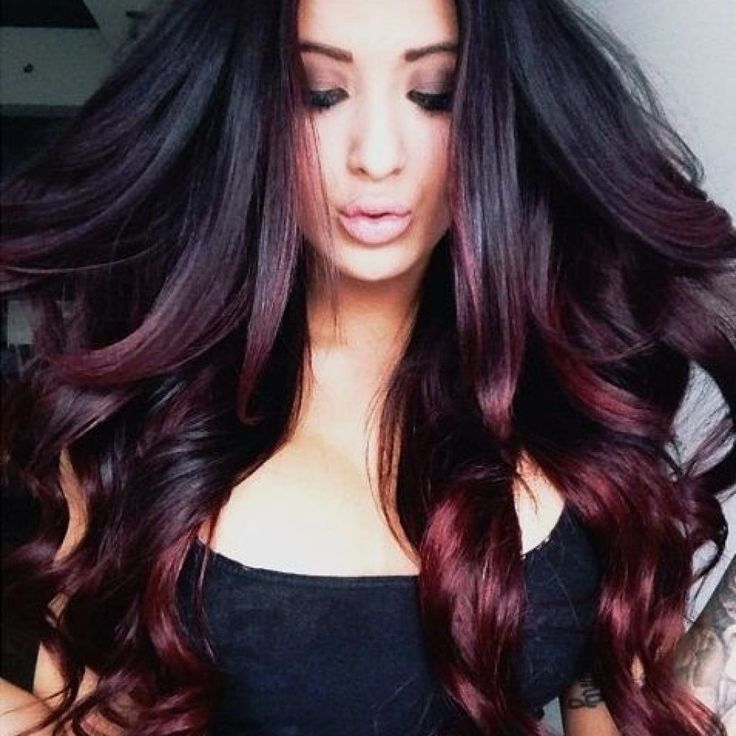Red Hair Color Ideas For Brunettes Dark