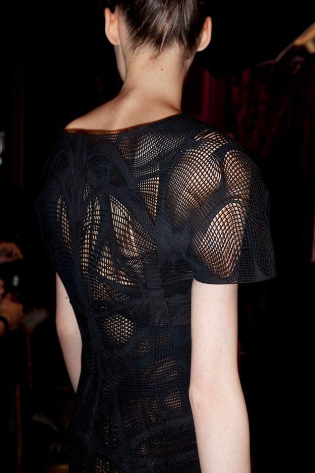 Iris Van Herpen- lightweight printed top