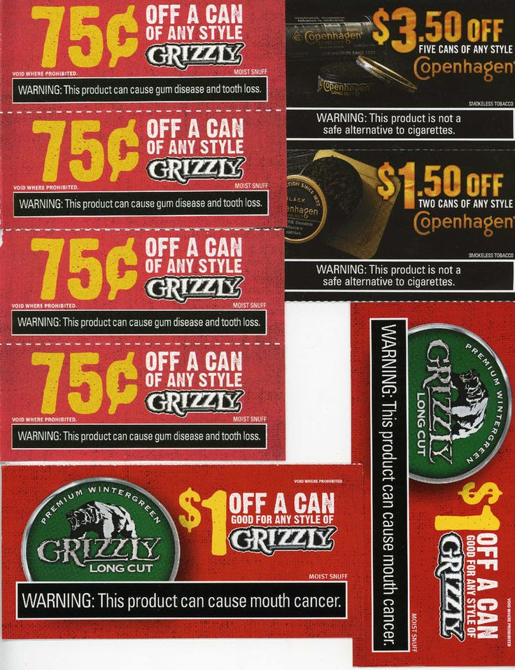 Grizzly wintergreen coupons