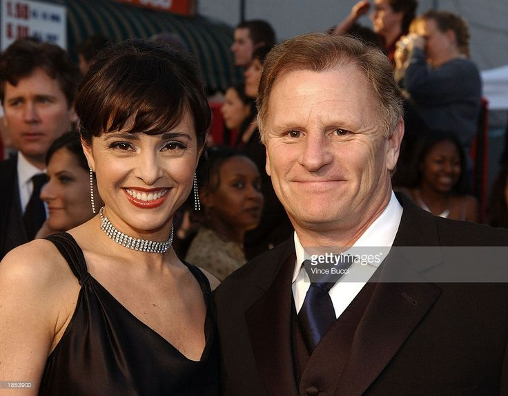 Actress Jacqueline Obradors and Gordon Clapp attend the ABC Television Network's 50th Anniversary Special at the Pantages Theatre on March 16, 2003 in Hollywood, California.