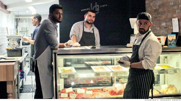 Halal butcher promises 'honest to God' burgers