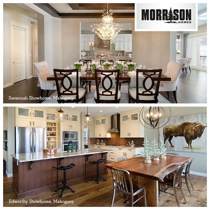 Sleek Formal Dining Room Or An Upscale Farmhouse With Organic Feel