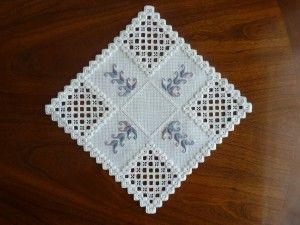 Hardanger embroidery, beginner