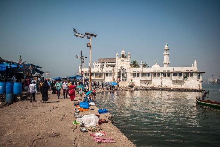 Bombaj (Indie) – Haji Ali Dargah – meczet na wodzie
