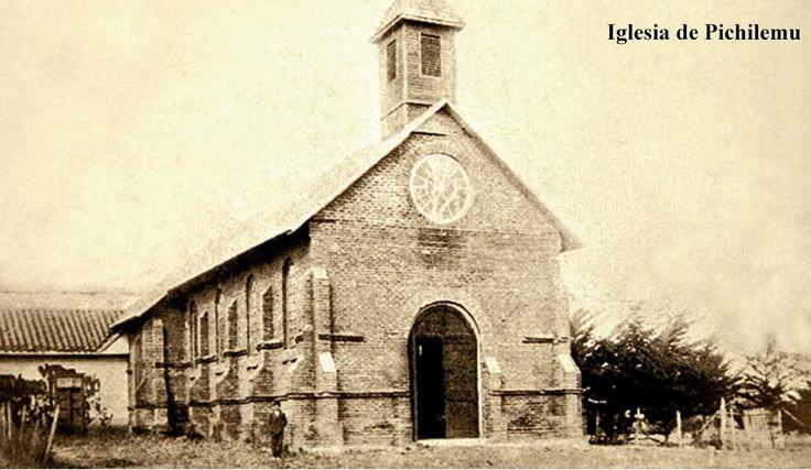 Iglesia del poblado de Pichilemu
