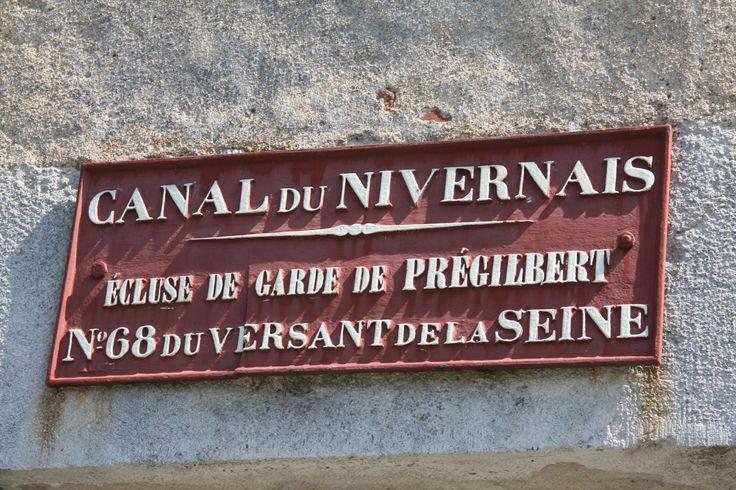 L'écluse de garde de Prégilbert sur le Canal du Nivernais. © G. Bourras