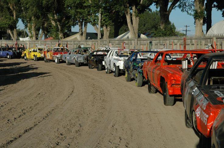 2012 Demolition Derby Car line-up #EISF | Eastern Idaho State Fair
