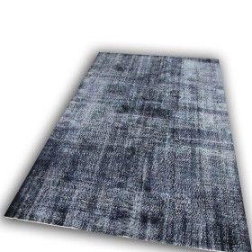 donker vloerkleed recoloured carpet   ROZEN kelim