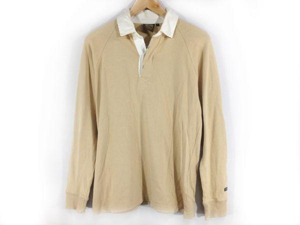 M205 AIGLE ポロシャツ ベージュ Mサイズ