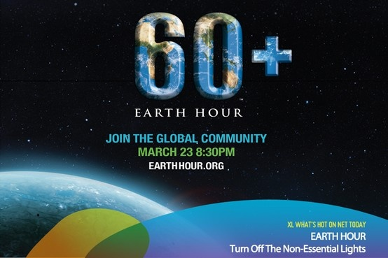 Who joined Earth Hour on March 23rd?