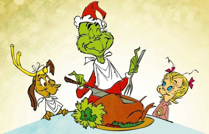 Christmas Party Theme Ideas - The Grinch Who Stole Christmas -great trivia questions