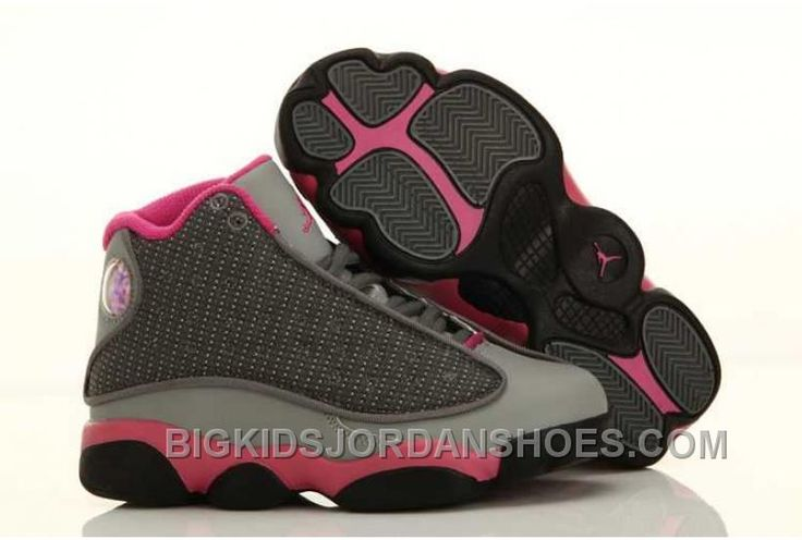 http://www.bigkidsjordanshoes.com/hot-nike-air-jordan-13-kids-grey-pink-shoes.html HOT NIKE AIR JORDAN 13 KIDS GREY PINK SHOES Only $73.33 , Free Shipping!