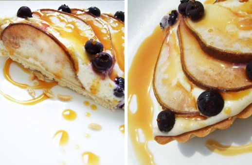 Pascal Rigo's Goat Cheese Tart with Pears (Tarte au Chevre avec des ...