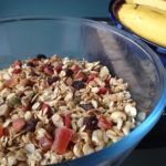 The recipe for my healthy, yummy toasted muesli. A delicious, low sugar alternative breakfast cereal