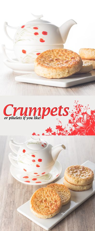 Homemade Crumpets Recipe: Homemade crumpets are a wonderful breakfast, brunch or supper treat and the finest way to increase your butter intake