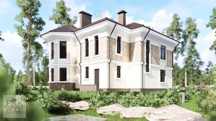 Быстровозводимый #дом из #газосиликата , #Эскиз готов!