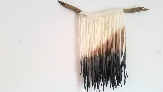 Hey, I found this really awesome Etsy listing at https://www.etsy.com/ca/listing/533194942/handmade-tapestry-fibre-art-dip-dye-wall