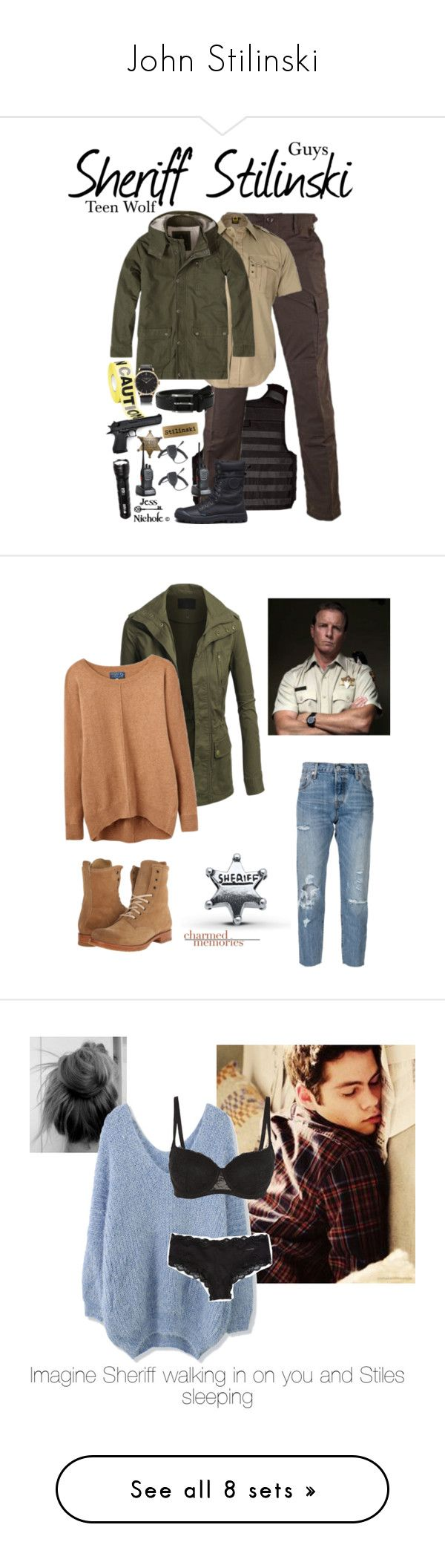 """John Stilinski"" by samtiritilli ❤ liked on Polyvore featuring 5.11 Tactical, prAna, Stacy Adams, Locman, men's fashion, menswear, Levi's, Joules, Frye and Chicwish"