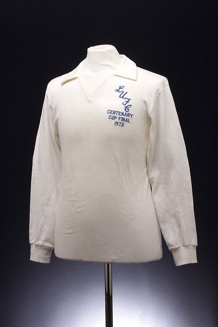 Leeds United Football Shirt (1972 Centenary Cup Final)