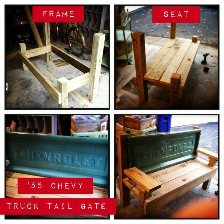 Tailgate Bench Google Search Craft Ideas Pinterest