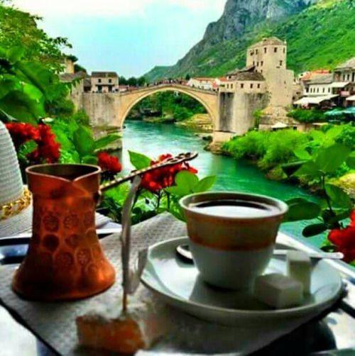 Coffee in Mostar