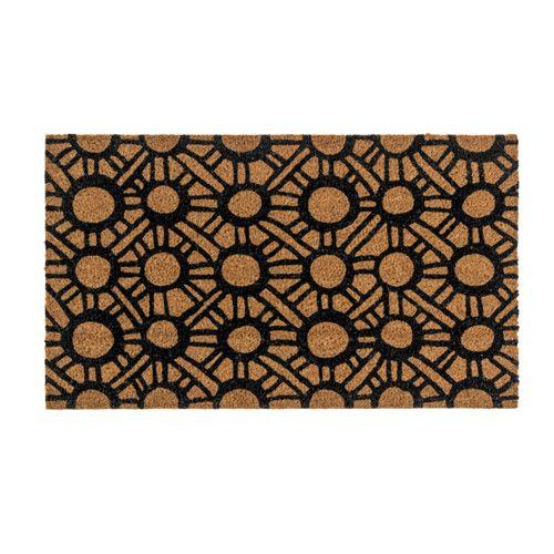 TINGSTED Door mat Black/natural 40x70 cm  - IKEA