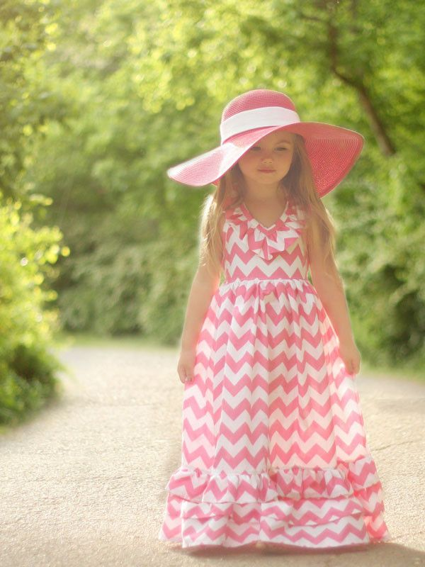 Toddler Maxi Dress Pattern.....adorable..oh my!