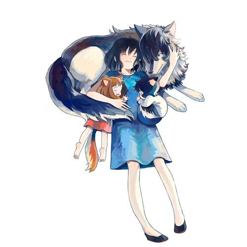 Wolf Children Ame and Yuki