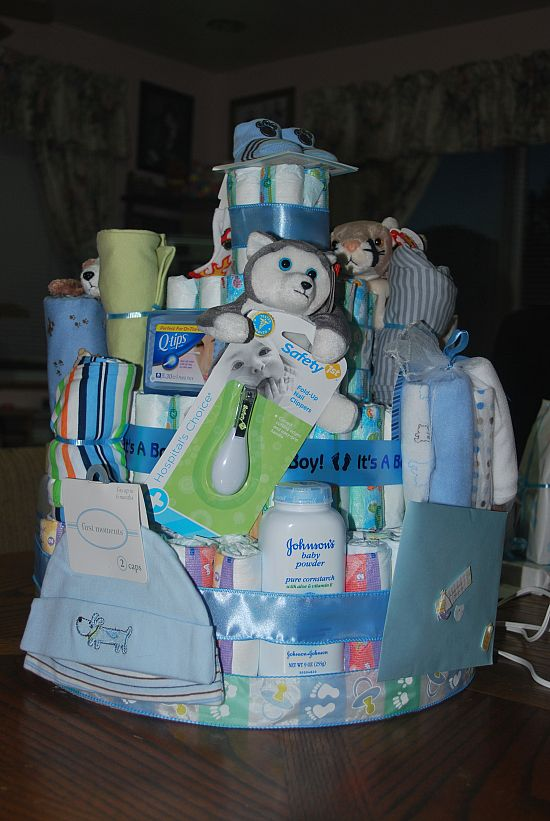 17 Best Images About Diaper Cakes For Boys On Pinterest