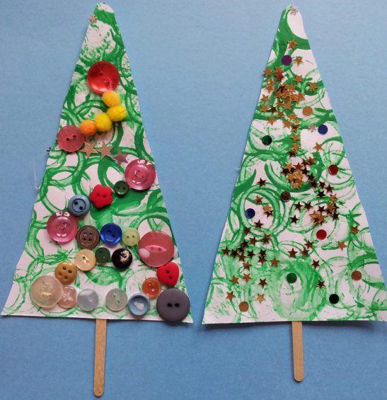 Christmas Tree Craft (from Mermaids Makings)