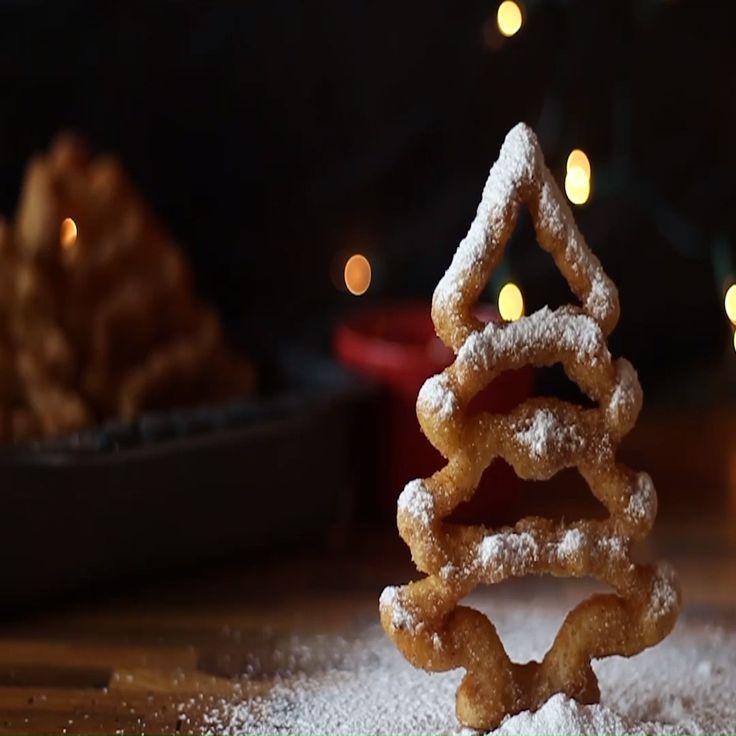 Buñuelos de viento 🎄 Receta de Navidad My Dessert, Dessert Recipes, Yummy Drinks, Yummy Food, Bread N Butter, Mini Cakes, Christmas Desserts, Easy Cooking, Junk Food