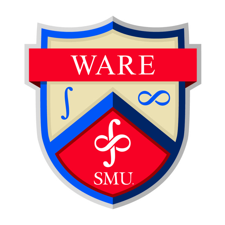 """""""The Ware Residential Commons crest is made up of three distinct symbols. The first being the integral symbol on the left side of the crest... The next symbol was the infinity symbol on the right... The two symbols were then put together in one representation of the Infinite Integral, which is the official symbol of Ware Residential Commons.""""  Follow the link to read the rest!"""
