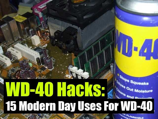15 Modern Day Uses For WD-40 - SHTF, Emergency Preparedness, Survival Prepping, Homesteading