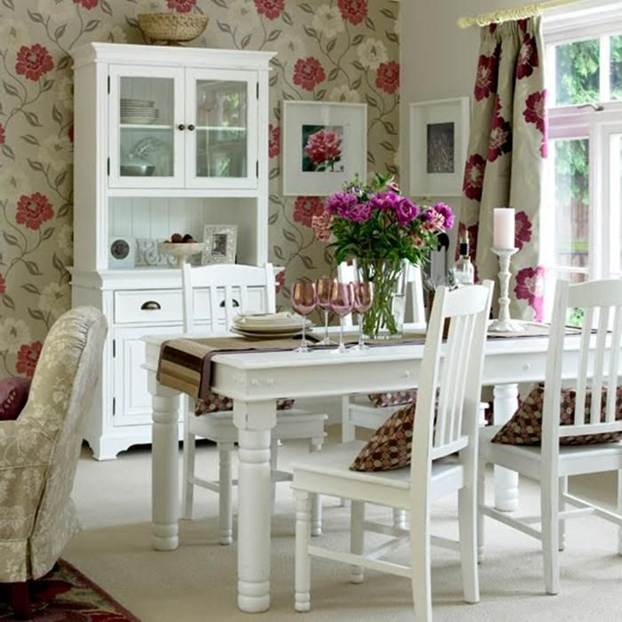 creative shabby chic decor shabby chic dining room wall decor. Black Bedroom Furniture Sets. Home Design Ideas