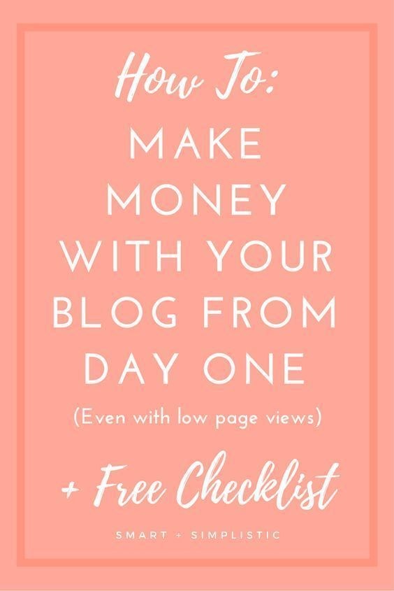 how to make money from blogging uk