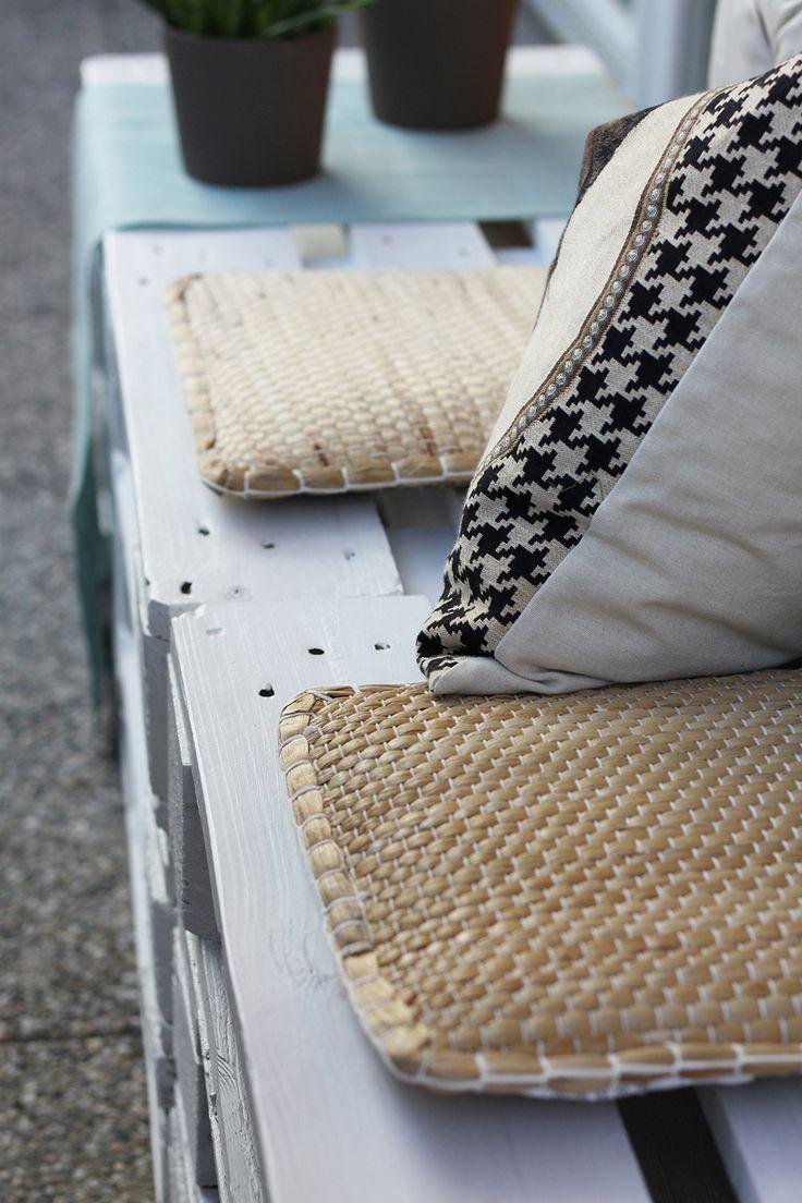 Homestory: Terrasse Mit DIY-Europaletten-Möbel