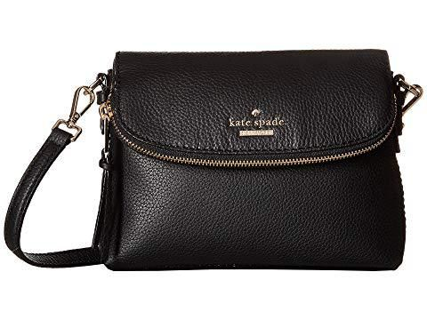 2db71e170762 This Kate Spade New York Jackson Street purse is SO cute and made of pebbled  leather. This luxurious purse features a fold-over flap with a zip pocket  and a ...