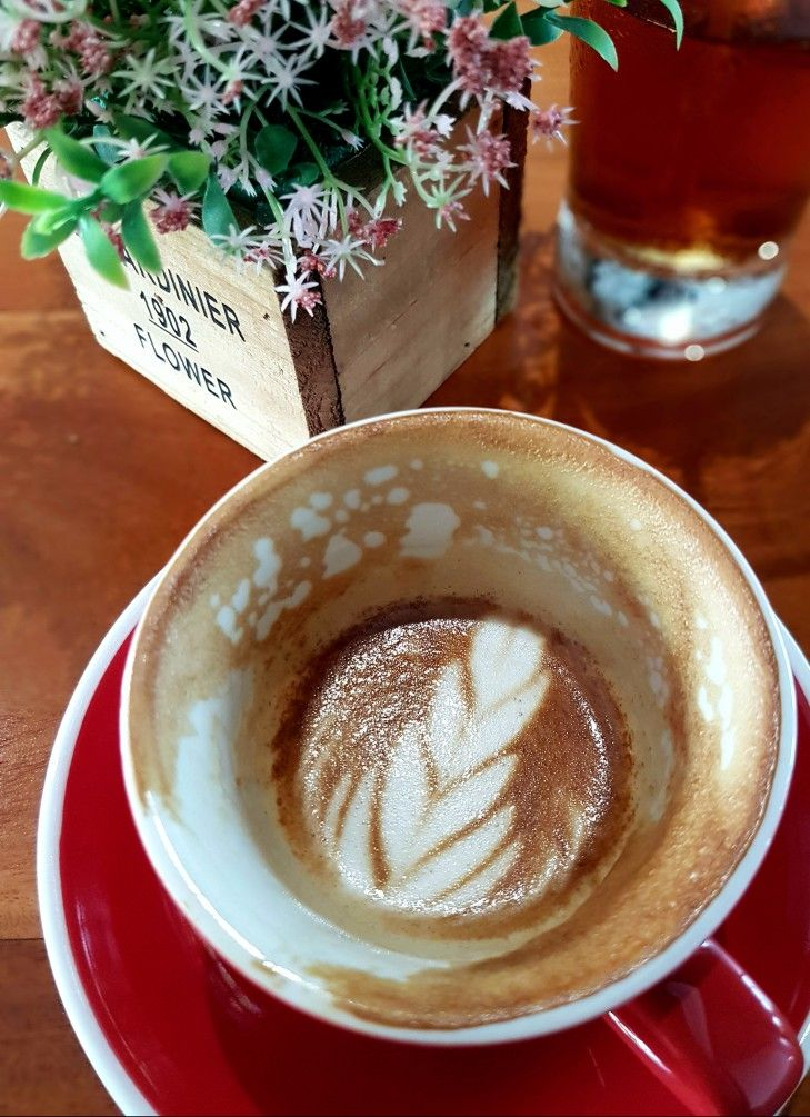 """""""Cappuccino"""", Pull Over Coffee & Roastery, Jakarta"""