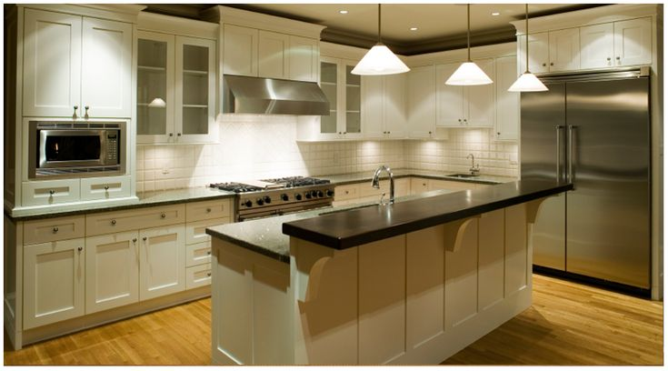 Ice White Shaker by Kitchen Cabinet Kings - Buy Kitchen Cabinets Online and Save Big with Wholesale Pricing!