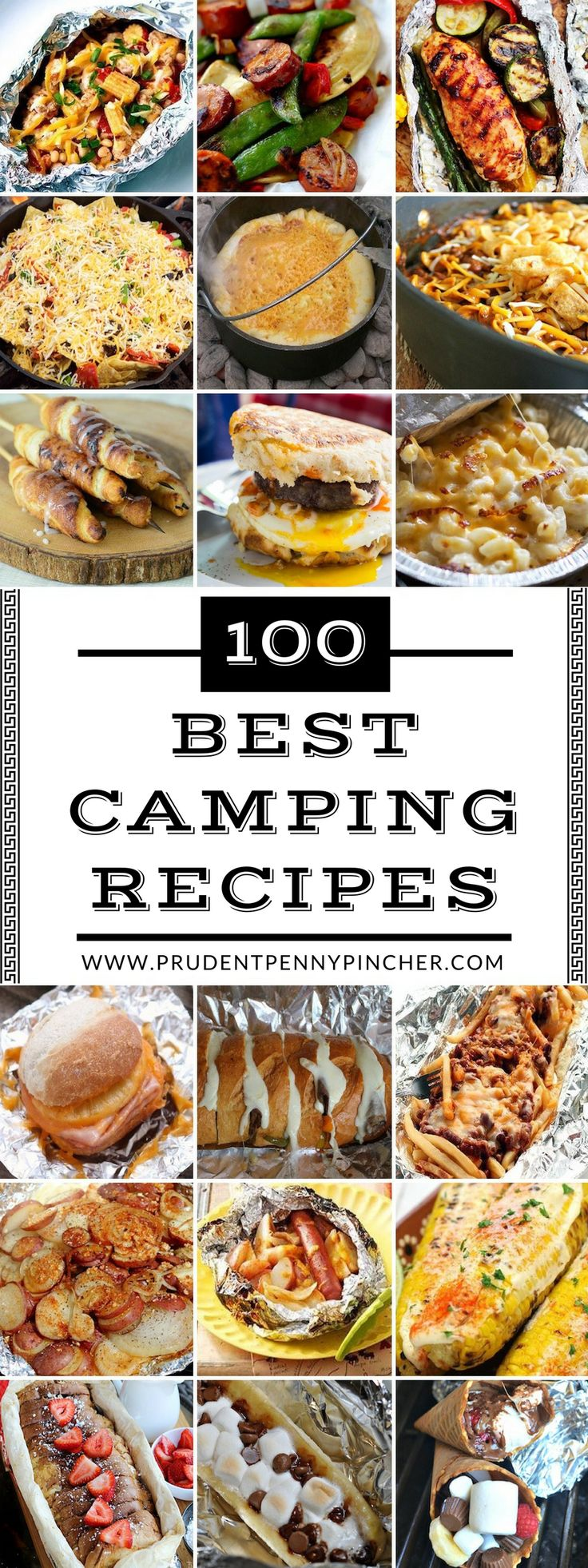 100 Best Camping Recipes – Luchs Fuß