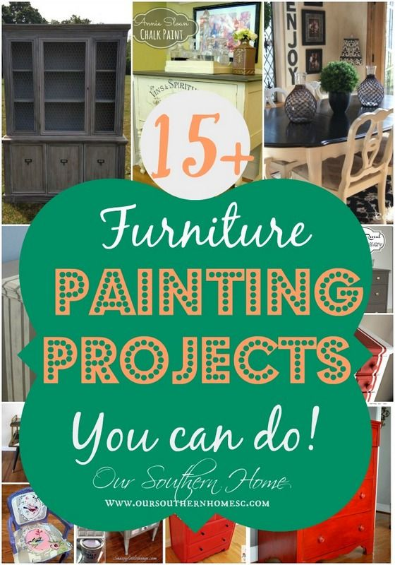 15+ Awesome Furniture Painting Projects