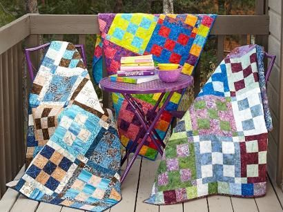 playing checkers quilt pattern - 410×307