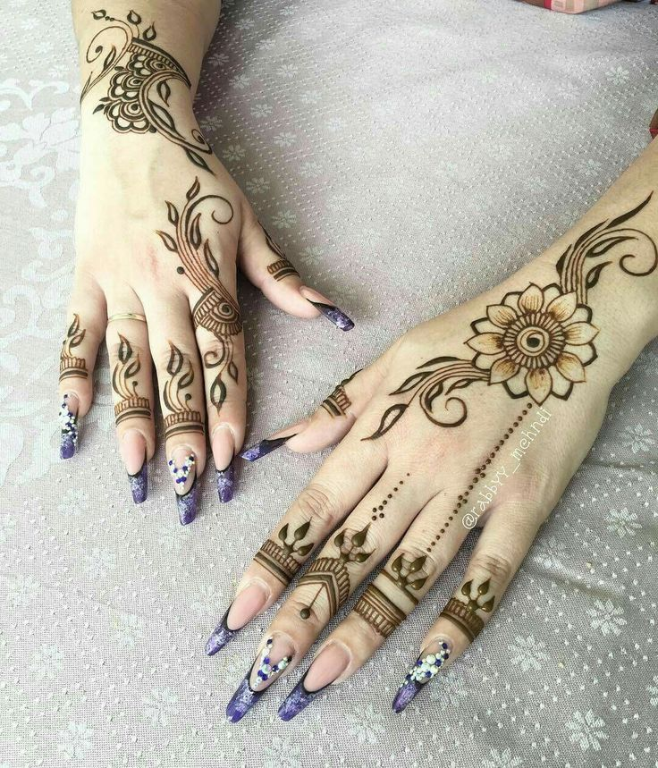 Arabic Henna Designs you Will Love - https://sorihe.com/fashion01/2018/03/08/arabic-henna-designs-you-will-love/