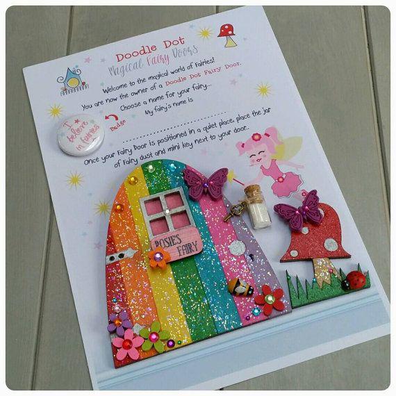 Best 25 elf door ideas on pinterest gnome door fairy for Rainbow fairy door