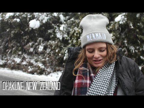 IT'S SNOWING!! | LauraJane in Ohakune - YouTube