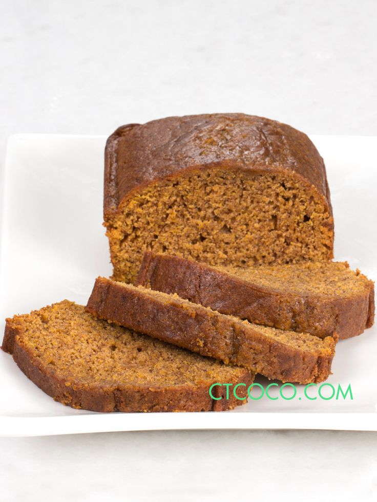 Connecticut Cookie Company Pumpkin Bread is freshly baked and made with Grandma's hometown vanilla. Great for breakfast, snack and kids love it!