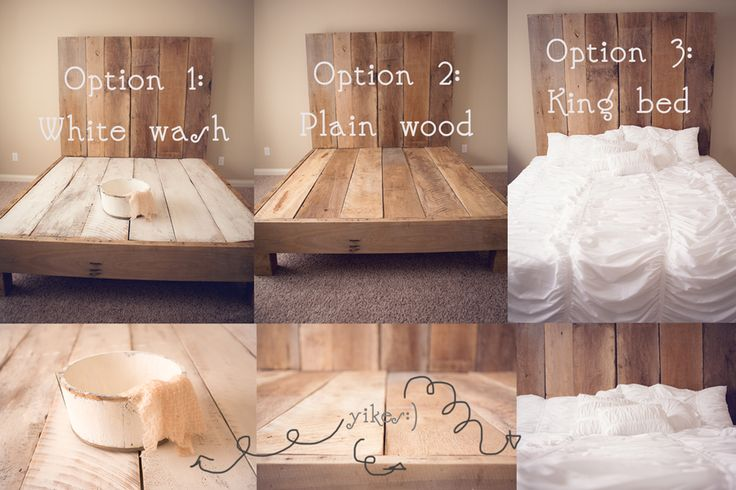 Love this option for Otto's big boy bed so that I can also use it as a studio if I want....